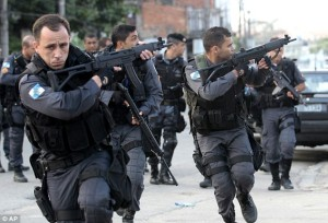 Four Rio police killed in 24 hours