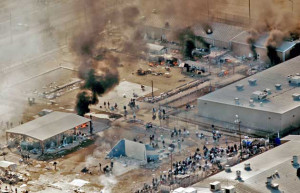 Riot Started in Texas Immigrant Prison
