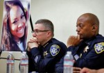 Oakland police press conference around gun violence