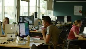 Millennials at work at Rally Software Development.