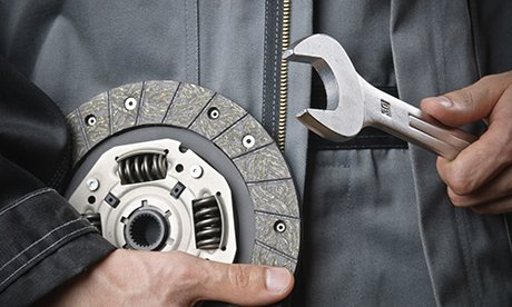 mechanic with wrench