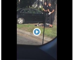 handcuffed-man-shot-video
