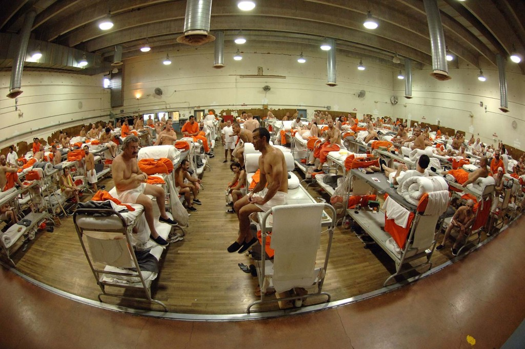 Overcrowded prison