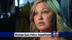 San Diego Woman Sues Police