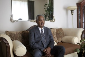 Lorenzo Davis, a former Supervising Investigator who was fired from his position at the Independent Police Review Authority poses for a portrait at his home in Chicago, Illinois July 21, 2015. Davis was terminated from his job after his employer said he refused to change his findings in Chicago police officers involved in cases on excessive force and officer involved shootings. (Joshua Lott for The Daily Beast)